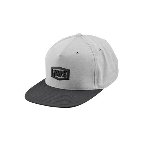100 Percent ENTERPRISE Snapback Hat Charcoal