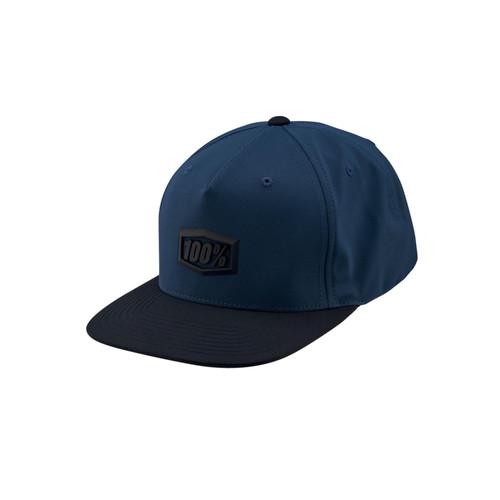 100 Percent ENTERPRISE Snapback Hat Blue
