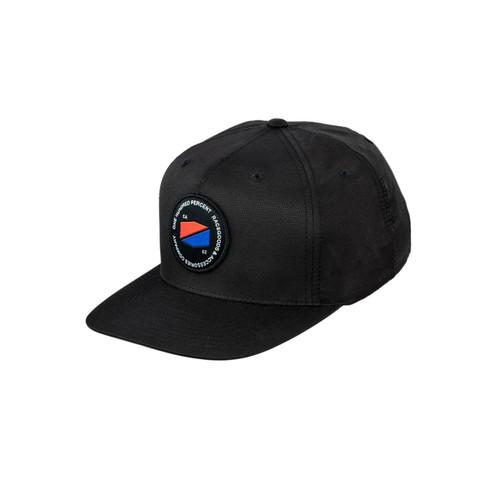 JEFFERSON Snapback Hat Black