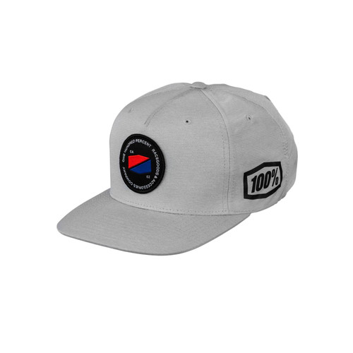 100 Percent JEFFERSON Snapback Hat Grey