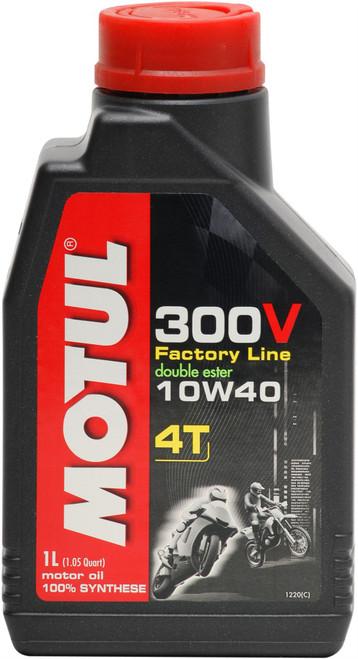 Motul Factory Line 300V 10W40 4T Oil 1 Litre