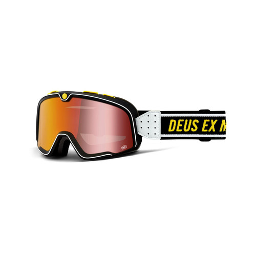 100 Percent BARSTOW Goggle Deus - Mirror Red Lens