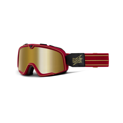 100 Percent BARSTOW Goggle Cartier - True Gold Lens