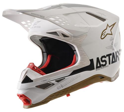 Alpinestars 2021 Adults Supertech SM-8 Motocross MX Bike Helmet - Le Squad