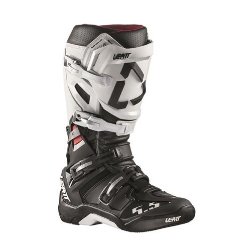 Leatt GPX 5.5 Flexlock MX Boots White/Black