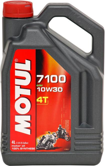 Motul Fully synthetic 7100 10W30 4T Oil 4 Litres