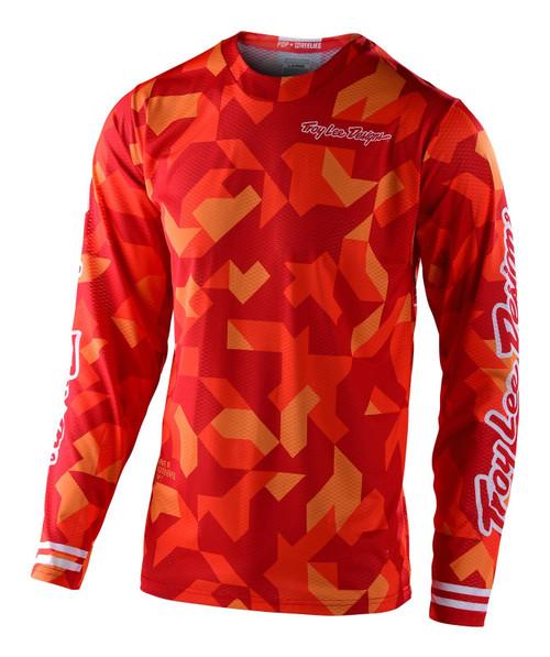 TLD 2021 GP Air Adult Men's MX Jersey Confetti Orange