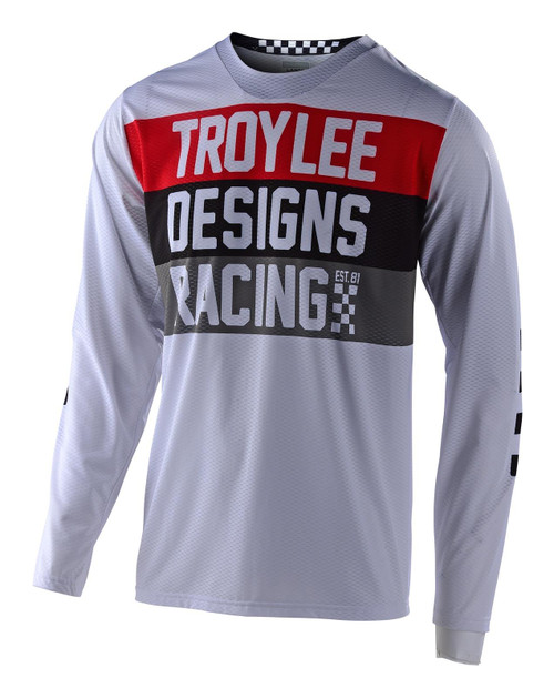 TLD 2021 GP Air Adult MX Jersey Continental White