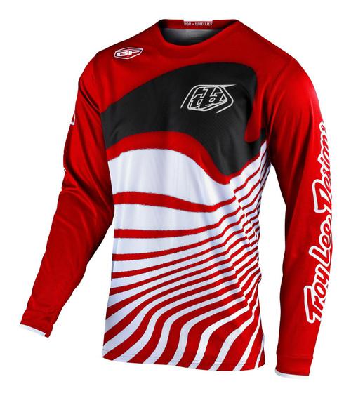 TLD 2021 GP Adult Men's MX Jersey Drift Red/Black