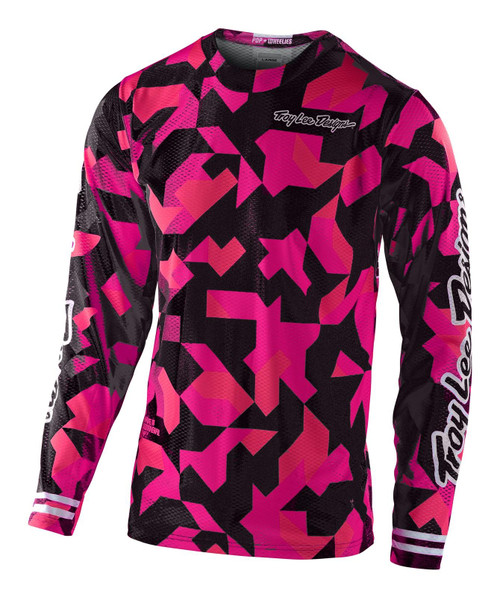 TLD 2021 Youth GP Air MX Jersey Confetti Pink