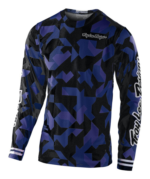 TLD 2021 Youth GP Air MX Jersey Confetti Navy
