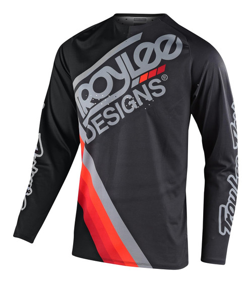 TLD 2021 Youth GP Air MX Jersey Tilt Black/Grey
