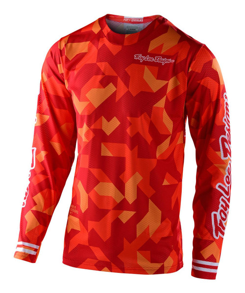 TLD 2021 Youth GP MX Jersey Confetti Orange