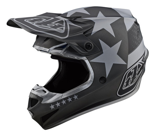 TLD 2021 SE4 Polyacrylite MX Helmet Freedom Black/Grey