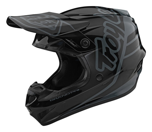 TLD 2021 Youth MX GP Helmet Silhouette Black/Grey