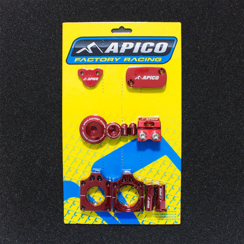 APICO YCPK104 FACTORY BLING PACK HONDA CRF250R 10-17 RED