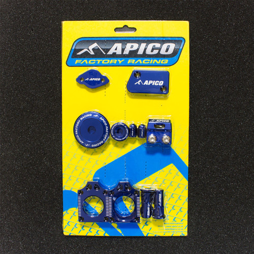 APICO YCPK401 FACTORY BLING PACK YAMAHA YZ450F 10-13 BLUE