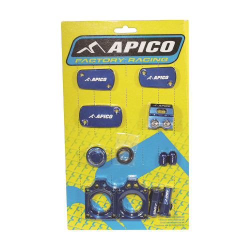 APICO YCPK202 FACTORY BLING PACK KAWASAKI KX450F 2019 BLUE