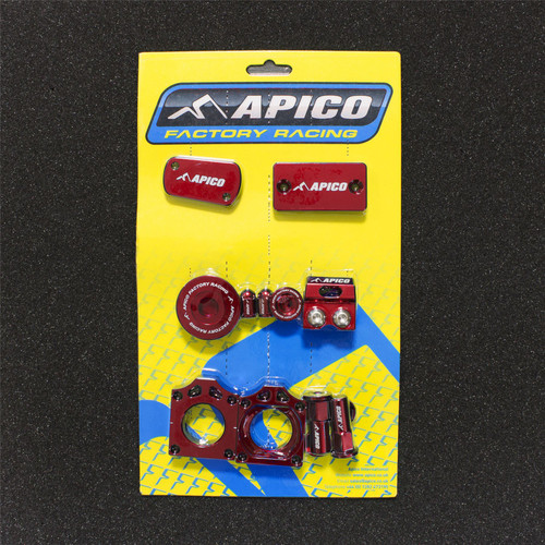 APICO YCPK301 RED FACTORY BLING PACK SUZUKI RM-Z250 07-18,  RM-Z450 05-18 RED