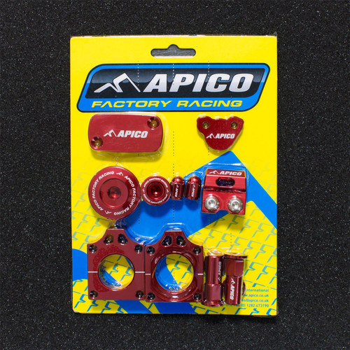 APICO YCPK102 FACTORY BLING PACK HONDA CRF450X 05-18 RED