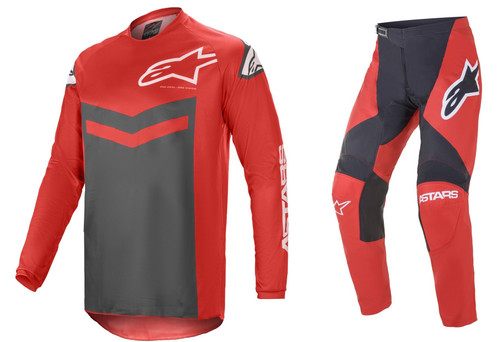 Alpinestars 2021 Fluid Speed MX Gear Bright Red/Anthracite