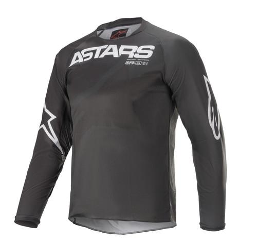 Alpinestars Youth 2021 Racer Braap MX Jersey Black/Anthracite/White