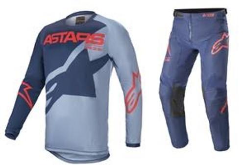 Alpinestars 2021 Youth Racer MX Gear Braap Blue/Blue/Red