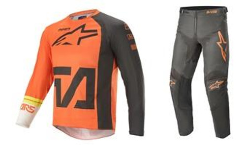 Alpinestars 2021 Youth Racer MX Gear Compass Orange/Anthracite/White