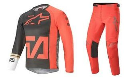 Alpinestars 2021 Youth Racer MX Gear Compass Anthracite/Red/White