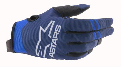 Alpinestars 2021 Radar MX Gloves Dark Blue/Blue