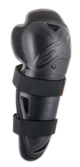 Alpinestars YOUTH Bionic Action Knee Guards Black/Red One Size