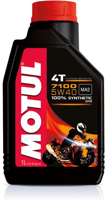 Motul Fully synthetic 7100 10W40 4T oil 1 litre