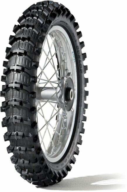 Dunlop Geomax Rear Tyre 120/80-19 63M TT MX12 (Sand)