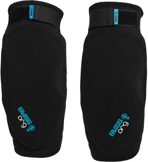 Bliss Protection ARG Womens Elbow Pads Black