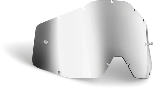 FMF Goggles POWERBOMB/POWERCORE YOUTH Replacement Lens Anti-Fog Silver Mirror