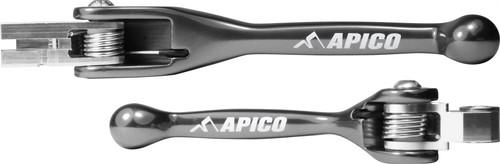 APICO TS0006-BLC0012 FLEXI LEVER (PAIR) HONDA CRF250R 07-19, CRF450R 07-19, CRF450RX 17-19 TITANIUM