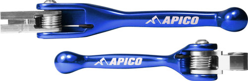 APICO TS0007U-BLC0009U FLEXI LEVER (PAIR) KAW/YAM YZ125/250 08-14, YZ250F/450F 07-08, KX250F/450F 13-18  BLUE