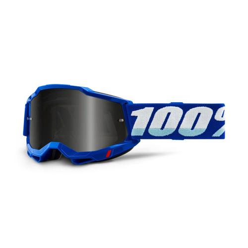 100 Percent ACCURI 2 Sand Goggle Blue - Smoke Lens FA20 Adult