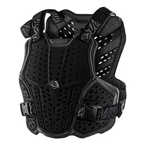 Troy Lee Designs Youth Chest Protector Rockfight Black One Size