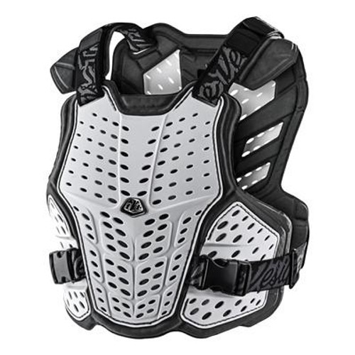 Troy Lee Designs CHEST PROTECT ROCKFIGHT YTH WHITE