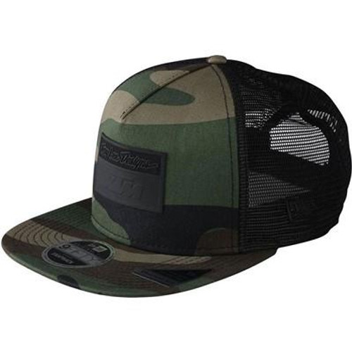 TLD ADULT SNAPBACK HAT CAMO LE TLD KTM GREEN ONE SIZE