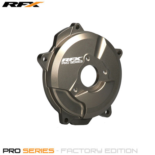 RFX Pro Clutch Cover (Hard Anodised) KTM SX65 09-20 TC65 17-20