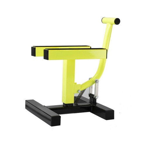 RFX Pro Single Pillar H Lift up Bike Stand (Yellow)