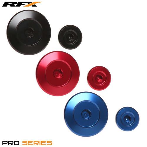 RFX Pro Engine Timing Plug Set (Red) Yamaha YZF250 14-19 YZF450 10-19