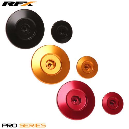 RFX Pro Engine Timing Plug Set (Red) Honda CRF150 07-16 CRF250 10-16 CRF450 02-16 CRFX450 05-19