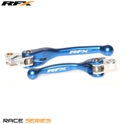 RFX Race Forged Flexible Lever Set Blue Yam YZ125/250 08-14 YZF250 07-08 YZF450 08 KXF250 13-20
