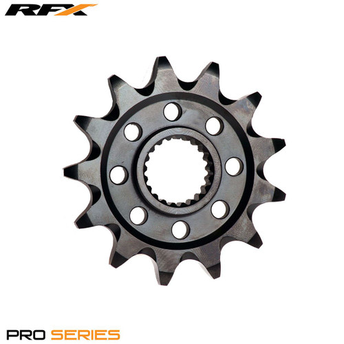 RFX Pro Front Sprocket (Black Zinc) Honda CRF250 18-20 (14T)