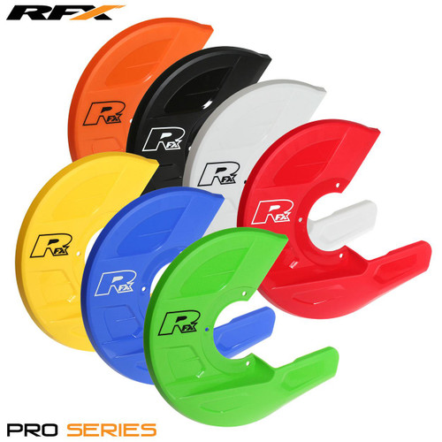 RFX Pro Disc and Caliper Guard (White) Universal to fit RFX disc guard mounts