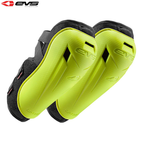 EVS Option Elbow Guards Adult (Hi-Viz Yellow) Pair Size Adult