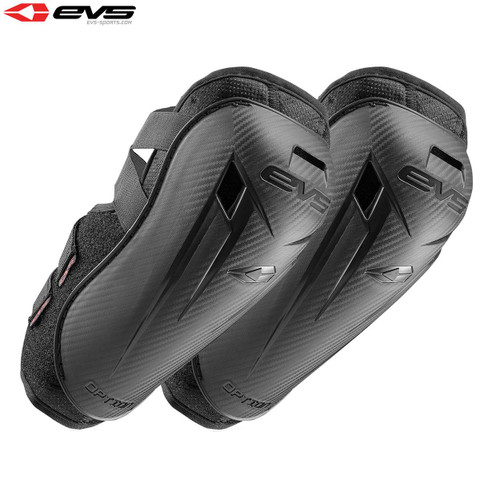 EVS Option Elbow Guards Adult (Black) Pair Size Adult